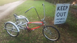 "SWAPS ?Adult Tricycle 24"" wheels, 6 speed, new parts bike bicycle Port Macquarie Port Macquarie City Preview"