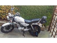 Yamaha YBR Custom 125 (2013) (not cbf,cbr,cb125f,suzuki,honda,etc)