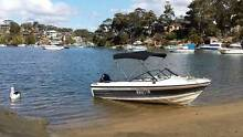 Great condition family run about motor boat -PRICED TO SELL Peakhurst Heights Hurstville Area Preview