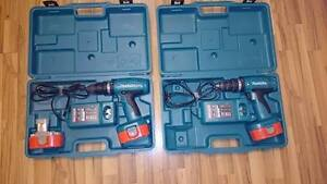 """have (2) Makita 1/2"""" cordless drills for sale ,"""