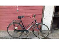 vintage push bike (rod brakes)