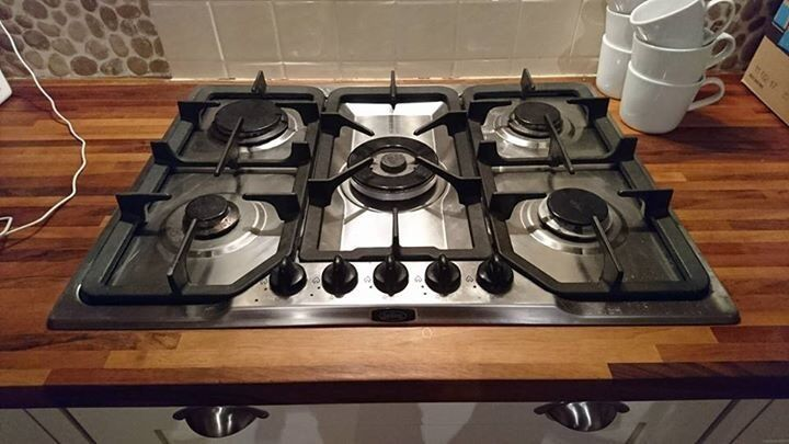 Belling 5 burner gas hob