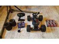 Traxxas Stampede 4x4 XL5 Upgraded RC Car (PRICE DROP)