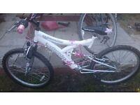 Girls moutain bike
