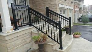Aluminum Railings, Glass Railings, Columns Supply & Install