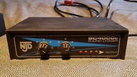 Njd e4000 sound to light controller