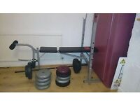 bench for execises - 80 kg