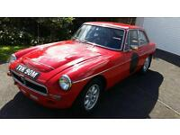 MGB GT 1974 Tax Exempt