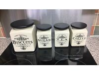 Tea Coffee Sugar Biscuit cannisters