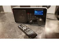 Pinell Supersound 11 Dab Internet Radio with remote control.Excellent condition and sound