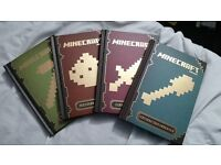 Minecraft Guidebook collection. Great condition, like new
