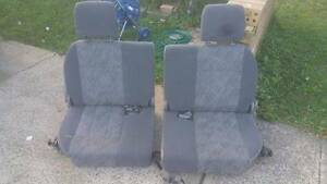 Toyota 100 series 105 landcruiser seats GXL DICKIE AND MIDDLE ROW Liverpool Liverpool Area Preview