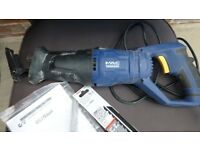 macallister reciprocating electric saw 750w