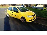 Fiat PUNTO 1.2 yellow 6 months MOT