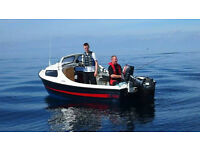 16ft Fishing Boat 40hp Engine