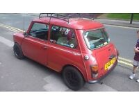 Classic Austin Mini Mayfair 1985