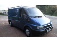 ford transit t280 100 bhp model ideal work horse fitted roller rack