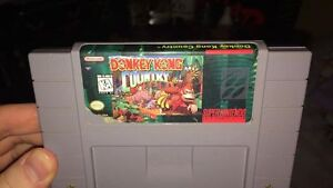 donkey kong country super nintendo snes game