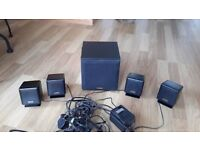 5 point surround sound system for computer by Cambridge Soundworks