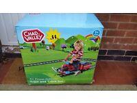 Toddler 6 volt ride on train set