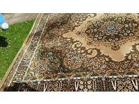Grosvenor Worsted Wilton Persian rug. 3.55m x 2.74 m. £ 325 ono