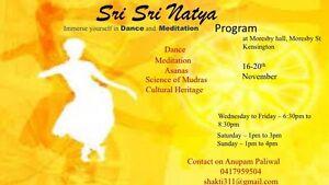 Sri Sri Natya ( Dance ) course Kensington South Perth Area Preview