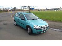 2003 Vauxhall Corsa Club 12V 1.0 Petrol 3 Door - MOT October 2017 - 61255 Genuine Miles