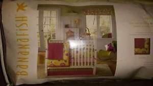 Baby girl complete nursery set