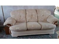 3 seater sofa and 1 seater chair