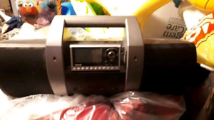 Sirius Xm radio and boombox