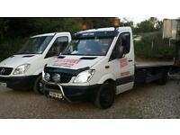 Recovery service north london barnet potters bar elstree enfield car and van transport