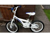 "racing 55 boys 16"" bike"
