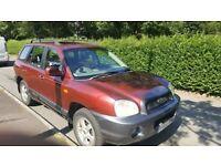 Hyundai Ilfracombe £500 Hyundai Santa fe ... 2.0 td... has mot till November 18