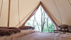 Bluebell View - Luxury bell tent in the heart of Shropshire