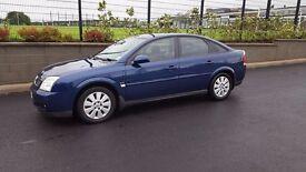 Vauxhall Vectra 1.8 16V Petrol, Manual, 2004, MOT until February 2018. £690.