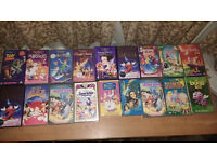 36 COLLECTABLE DISNEY VHS TAPES