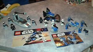 Ensemble de 3 kit de legos Star Wars (30$ l'ensemble)