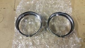 Harley Auxiliary Light Rings
