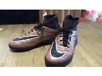 Nike Hypervenom x with sock. size 5, Excellent condition