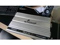 Lanzar Opti 100x4 car amplifier