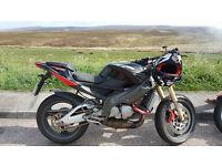 Aprilia RS 125 CC Motorcycle Bandit