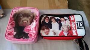 2x Childrens kids Lunch boxes Dog Puppy One Direction BNWT Beeliar Cockburn Area Preview