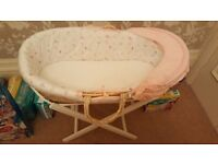 Moses Basket Mothercare - unused
