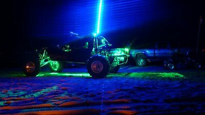 Tribal Whips 6' Nightstalker LED lighted Whip atv utv sand dunes 6 colors