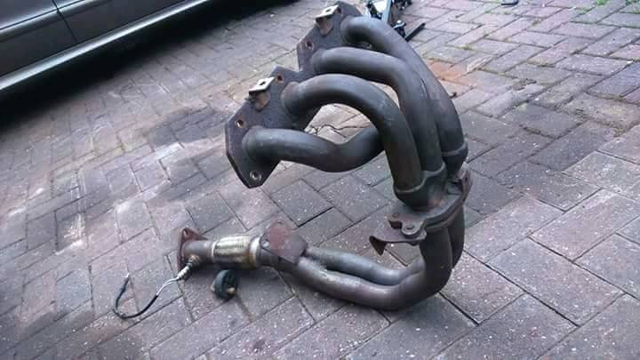 H22 manifold and flexi pipe Prelude Civic Accord Type R Vti