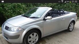 Renault Megan Monaco Convertible with full service history and low mileage