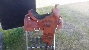 "16"" Double J Saddle Never Used"