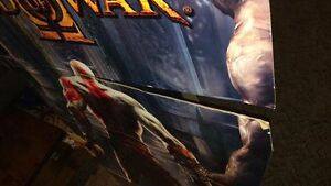 God of war II retail cardboard display PlayStation ps2 PS3 retro Regina Regina Area image 3