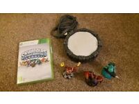 Xbox 360 spyros adventure game, portal and figures