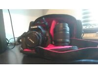 Canon 600D DSLR + 2 Lenses + Travel Case